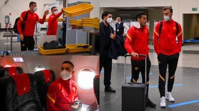 Roma in partenza per Milano. Pedro e Borja Mayoral a colloquio