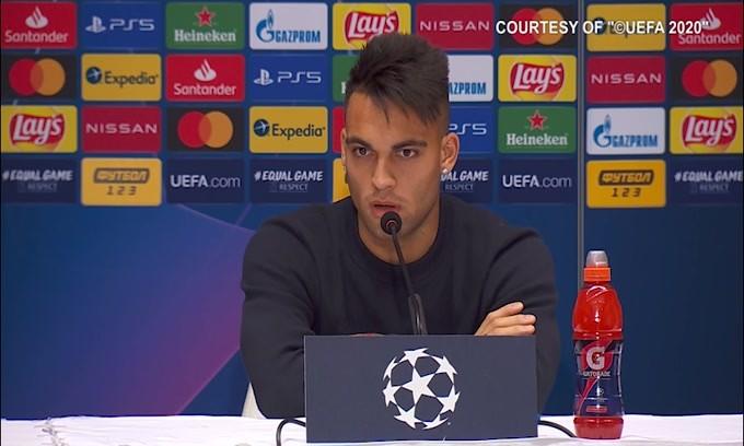 """Lautaro Martinez e il cambio di Genova: """"Ero arrabbiato con me stesso"""""""