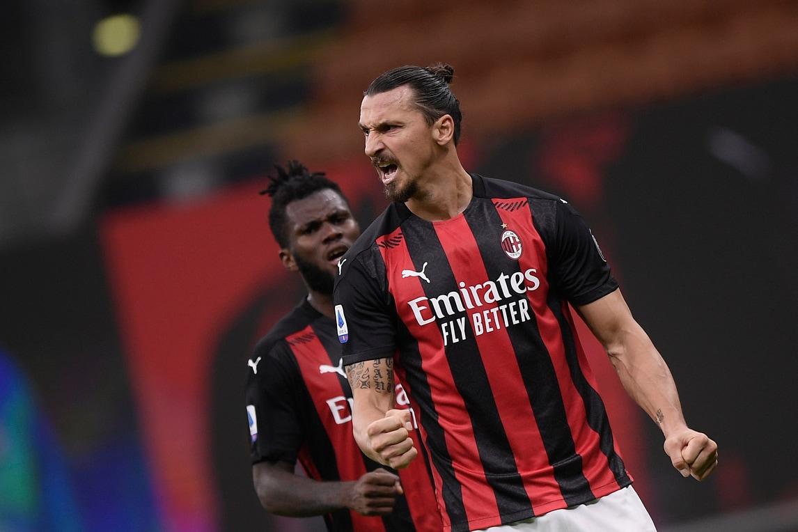 Tra Milan e Roma è uno show: Ibrahimovic doppietta, è capocannoniere