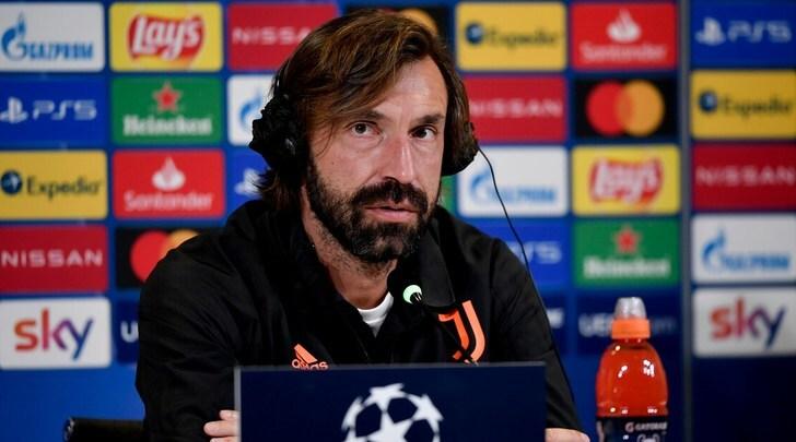 """Pirlo: """"Ronaldo? Aspettiamo stasera il responso del tampone"""" - Tuttosport"""