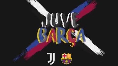 La Juve lancia la sfida al Barça sui social e i catalani rispondono