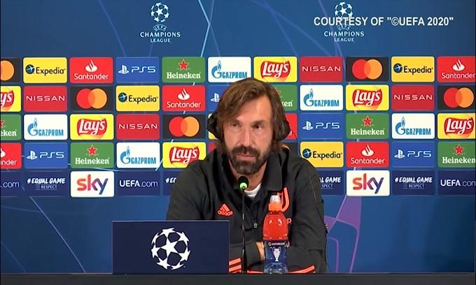 """Pirlo: """"Dybala sta bene, pronto per giocare"""""""