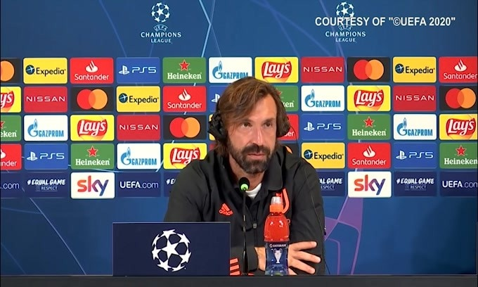 """Pirlo: """"Juve-Barca? Non è una partita decisiva"""""""
