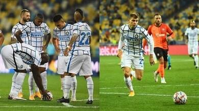 L'Inter si ferma alle traverse colpite da Barella e Lukaku: con lo Shakhtar è 0-0