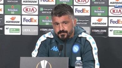 """Gattuso: """"Voglio un grande Napoli. Con l'Az una mazzata incredibile"""""""
