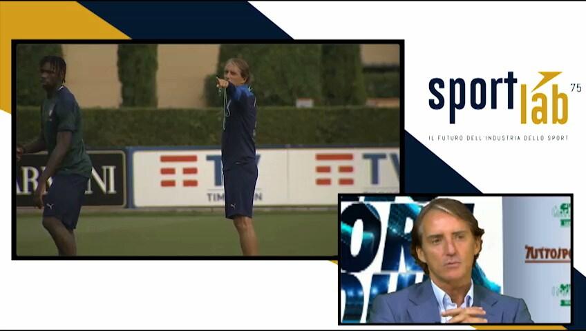 SportLab, intervista al CT della Nazionale Roberto Mancini