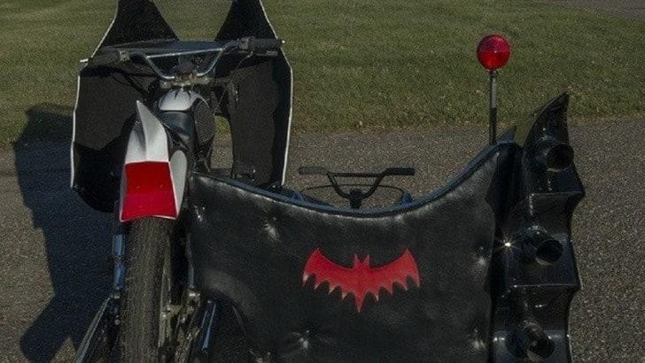 Batman, la replica della Bat-moto originale - Gli scatti
