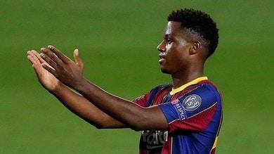 """Ansu Fati esclusivo: """"Sogno il Golden Boy, mi manda Messi"""""""