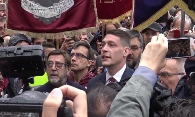 Torino, trauma al ginocchio per Belotti