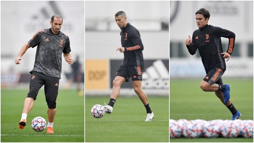 Juve verso il Ferencvaros: Chiellini c'è, Ronaldo e Dybala scalpitano