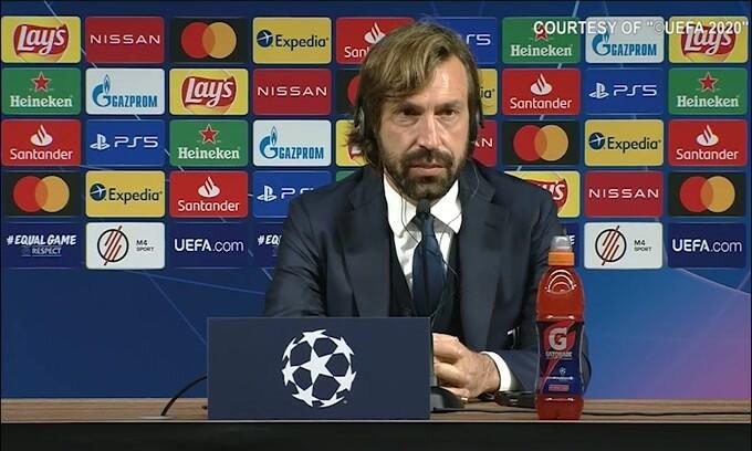 """Pirlo: """"Ko con Barca ci ha fatto capire che bisogna migliorare"""""""