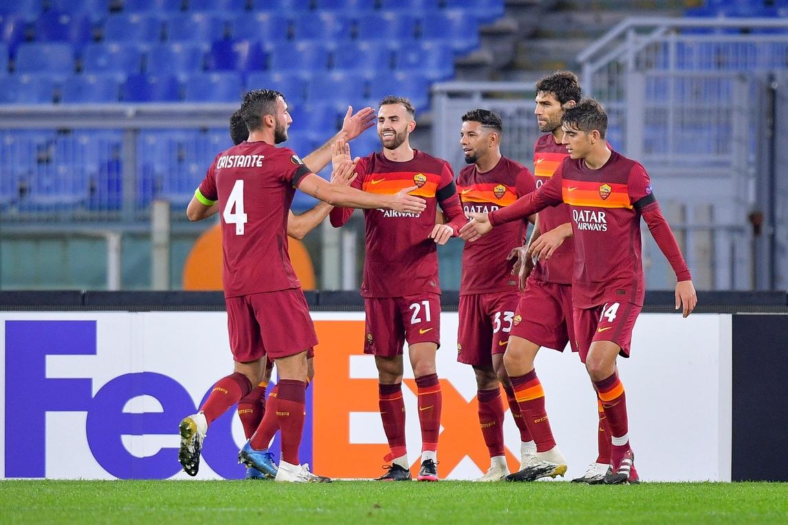 La Roma cala il pokerissimo sul Cluj: primi gol per Borja Mayoral