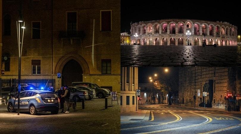 Coronavirus, Bologna a Verona deserte: prima notte in lockdown