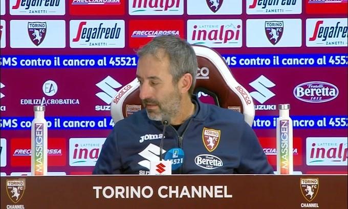 """Giampaolo vede positivo: """"Venti giorni fa magari l'avremmo persa"""""""