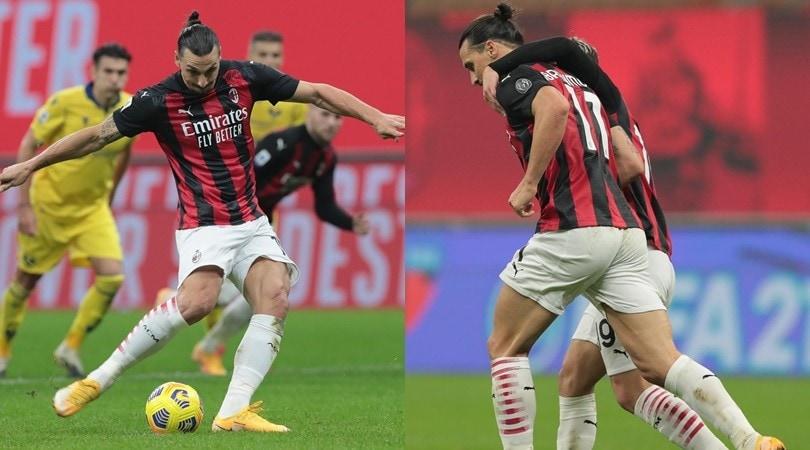Fa tutto Ibrahimovic: sbaglia un rigore, prende un incrocio e salva il Milan al 93'