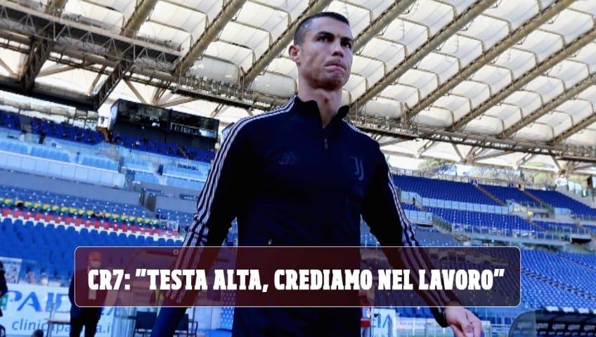 Cristiano Ronaldo: fa più male il pari finale della botta alla caviglia