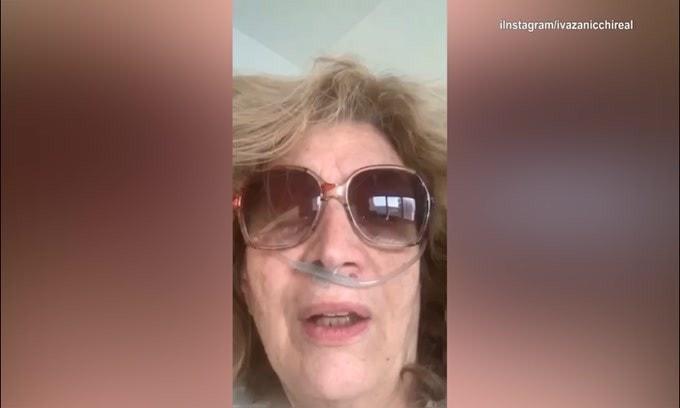 """Iva Zanicchi: """"Sono ricoverata in ospedale. Ho la polmonite"""""""