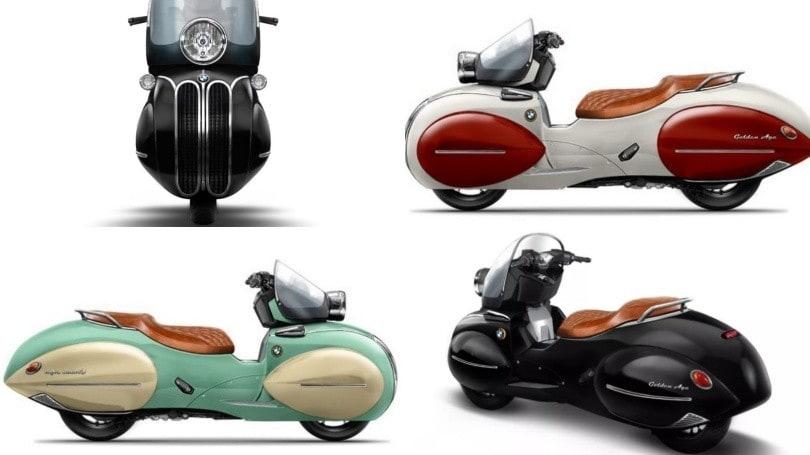 Da Miami arriva lo scooter del passato: l'idea da Nmoto Studio GLI SCATTI