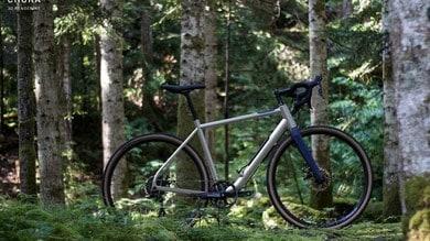 Choka, la bici con l'aria di riserva nel telaio! VIDEO