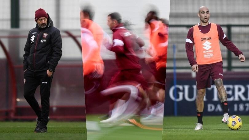 Giampaolo striglia il Torino con un doppio allenamento: ci sono Zaza e Millico