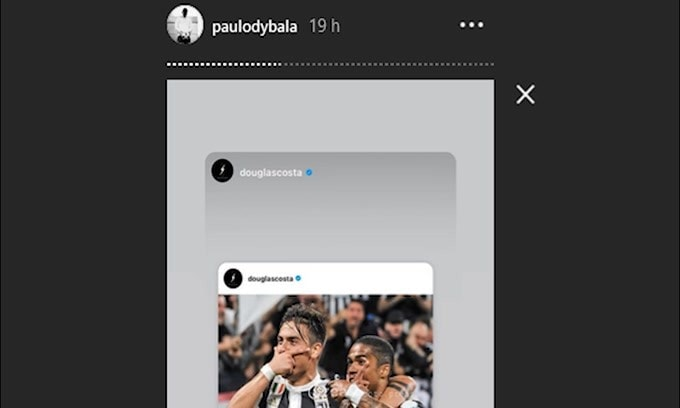 """Dybala """"scorda"""" gli auguri della Juventus"""