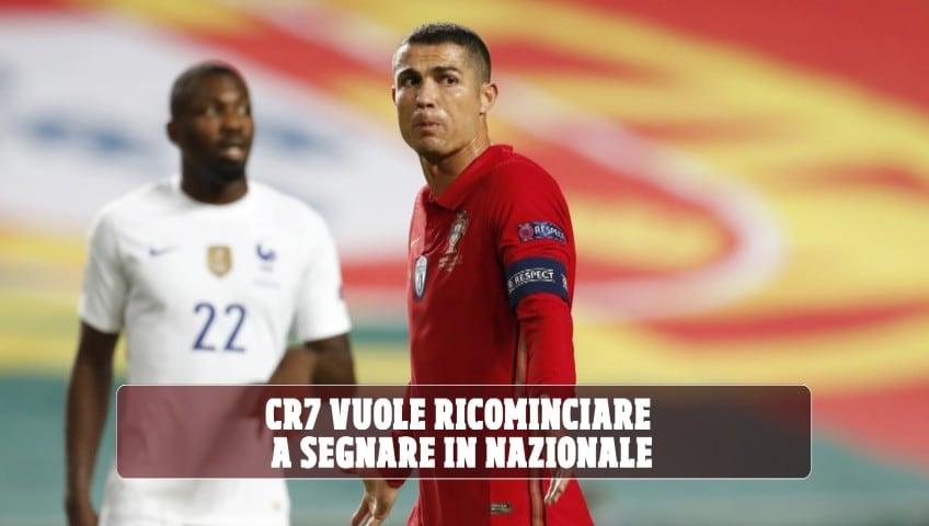 CR102, assalto al gol: Ronaldo vuole ricominciare a segnare in nazionale