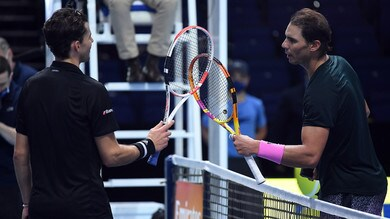 Atp Finals, Thiem piega Nadal e vola in semifinale