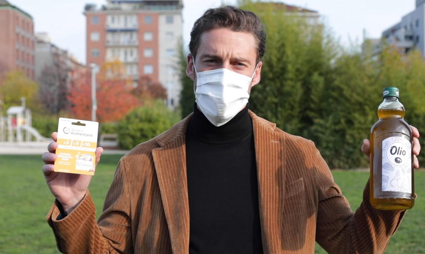 Juve, Marchisio testimonial della Colletta Alimentare 2020