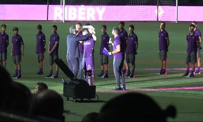 La Fiorentina aspetta i gol di Ribery