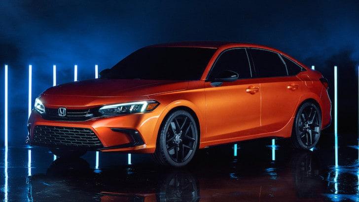 Nuova Honda Civic Proto, ecco lo