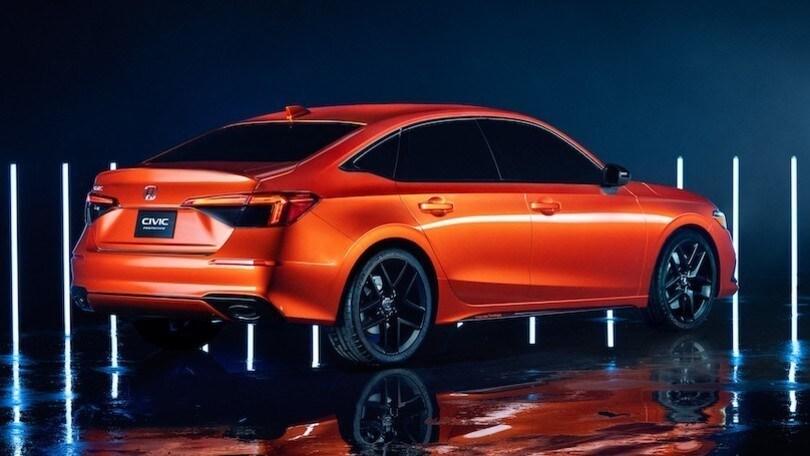 """Nuova Honda Civic Proto, ecco lo """"spoiler"""" della 5 porte"""