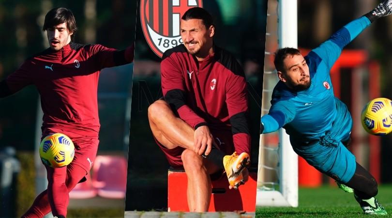 Milan, c'è il Napoli: i nazionali ritrovano Ibrahimovic