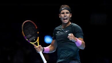 Nadal alle semifinali delle Atp Finals: Tsitsipas ko in tre set