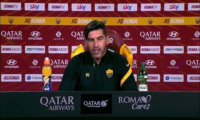 """Fonseca: """"Smalling non giocherà. Pellegrini non al meglio"""""""