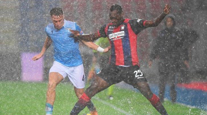 Crotone-Lazio 0-2, il tabellino