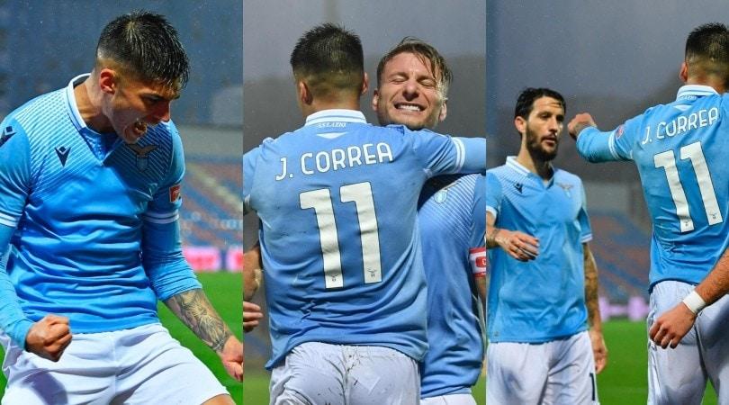 Lazio, due gol sotto al diluvio: Crotone battuto 2-0