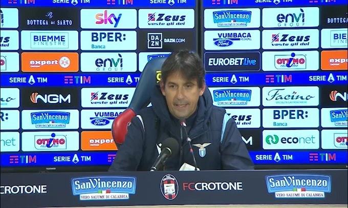 "Simone Inzaghi: ""Siamo stati bravi. Vittoria meritata"""
