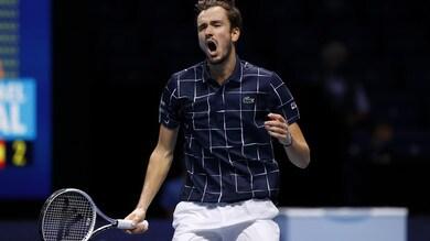 Atp Finals, Medvedev batte Nadal e sfida Thiem per il titolo