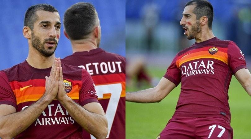 Mkhitaryan, doppietta con gol capolavoro: tris Roma col Parma