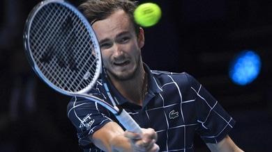 Atp Finals, Medvedev trionfa: Thiem ko in finale