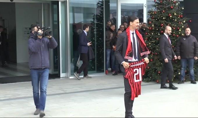 Milan, Ibrahimovic ha una lesione al bicipite femorale
