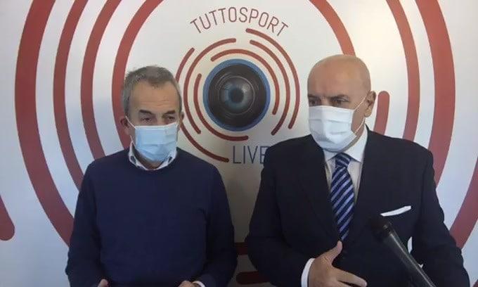Casa Tuttosport. Juve, voglia di tridente e intanto gioca Dybala con CR7. Ansia Milan: Ibra rischia uno stop di 3 settimane.
