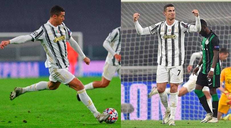 Juve, Ronaldo segna al Ferencvaros e mostra i muscoli