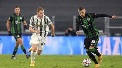 Juventus-Ferencváros 2-1, il tabellino
