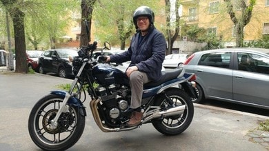 Carlo Verdone, una vita da motociclista (anche sul set)