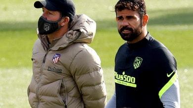 Atletico Madrid, trombosi venosa per Diego Costa: out contro Lokomotiv Mosca