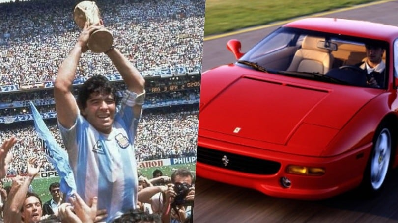 Maradona, la passione per le auto del Pibe de Oro