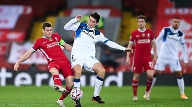 Liverpool-Atalanta 0-2, il tabellino
