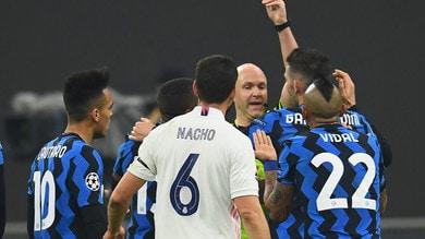 Inter-Real Madrid 0-2, harakiri Vidal: la qualificazione si fa dura
