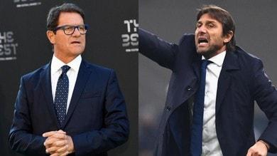 Capello attacca l'Inter e Conte non ci sta: botta e risposta in tv